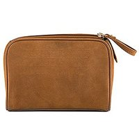 Tanned Genuine Leather Travel Bag