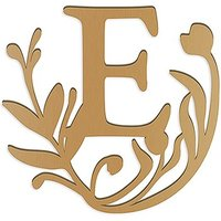 Modern Fairy Tale Acrylic Initial - Metallic Gold - Letter R