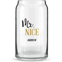 Can Shaped Glass Personalised - Mr. Nice Printing