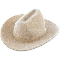 Small Cowboy Hat Wedding Favour Decoration - Tan
