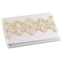 Beverly Clark The Luxe Collection Guest Book - Ivory