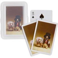 Funny Bride and Groom Dog Pack of Cards Favours