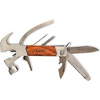 Personalised Rose Wood Handle Hammer Multi-Tool - Monogram Engraved