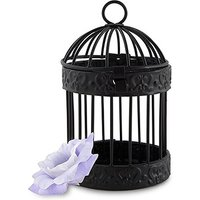 Small Black Birdcage Favour Containers