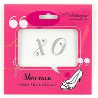 \X O\ Shoe Stickers