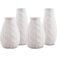Small White Porcelain Flower Vases