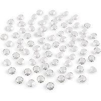 Decorative Acrylic Cut Diamonds - Small - Pearl