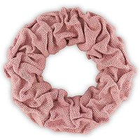 Small Ruffled Burlap Wreath in Vintage Pink - Vintage Pink