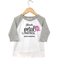 Personalised Kids T-Shirt - Petal Patrol - 3T