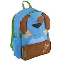 Personalised Kids Backpack - Blue Puppy Dog