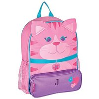 Personalised Kids Backpack - Pink Kitty