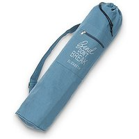 Yoga Mat Bag - Bend Dont Break - Oasis Blue