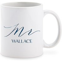 Personalised Coffee Mug - Mr