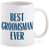 Personalised Coffee Mug - Best Groomsman Ever