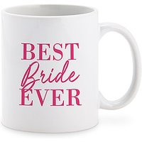 Personalised Coffee Mug - Best Bride Ever