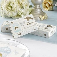 To Have & To Hold Lovebirds, Hearts and Flowers Cake Boxes