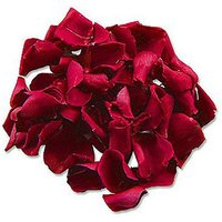 Preserved Rose Petal Confetti Brown or Mint Green - Chocolate Brown