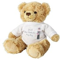Personalised Fabulous Pageboy Teddy