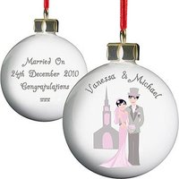 Personalised Fabulous Couple Bauble