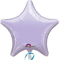 Star Shape Foil Balloon - Lilac