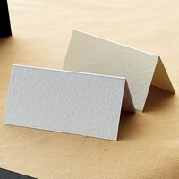 Luxury Textured Place Cards Pack - White