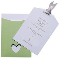 Eco Chic Initials Save the Date