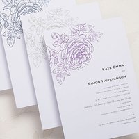 Vintage Bloom Invitation