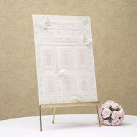 A3 Pearl Butterfly Table Planner Kit - Pastel Pink