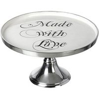 Made with Love Metal Cake Stand