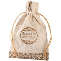 Burlap Something Special Favour Bag
