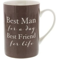 Best Friend Best Man Mug
