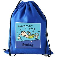 Personalised Swimming Bag Page Boy Gift