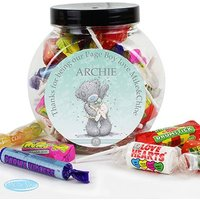 Personalised Me to You Wedding Sweet Jar