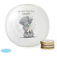 Personalised Me to You Money Box for Page Boys