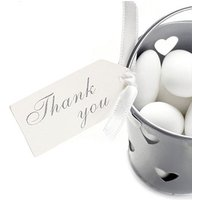 Ivory Thank You Luggage Tags - 10 Pack