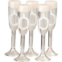 Champagne Glass Wedding Bubbles Pack