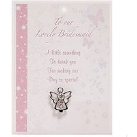 Bridesmaid Angel Pin Gift