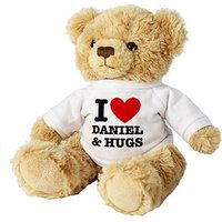 Personalised I Love Heart Teddy