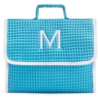 Stand Up Waffle Cosmetic Bag - Turquoise