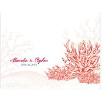 Reef Coral Note Card