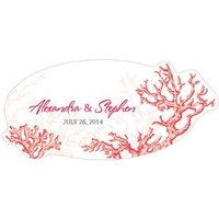 Reef Coral Small PVC Sticker