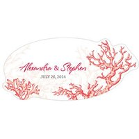 Reef Coral Large PVC Sticker