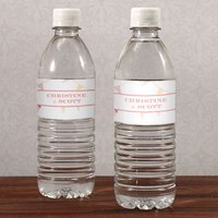 Homespun Charm Water Bottle Label
