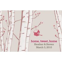 Home Tweet Home Favour Cards