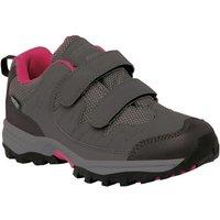 Helmshore Low Junior Walking Shoe Steel Vivacious