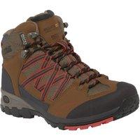 Lady Samaris Mid Hiking Boot Saddle Coral