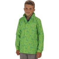 Printed Overchill Jacket Green Flash