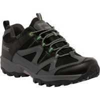 Gatlin Low Walking Shoe Black Green