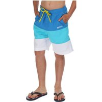 Boys Skooba Swim Shorts Blue Turquoise