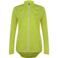 Womens Ensphere Packaway Jacket Fluro Yellow